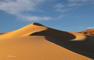 Afternoon Light On The Ibex Dunes
