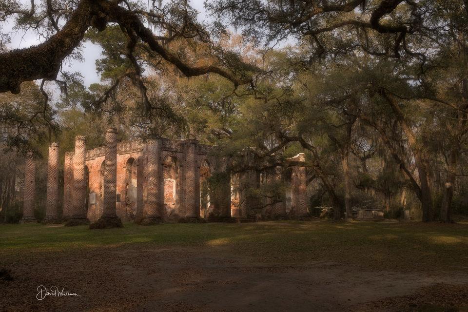 Sheldon Church Ruins print