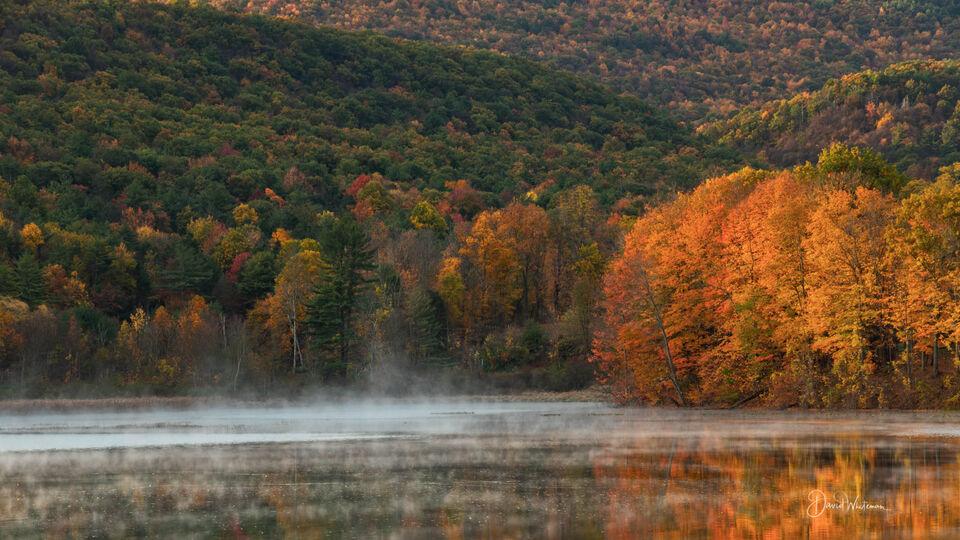 Reflective Fall Color 2 print