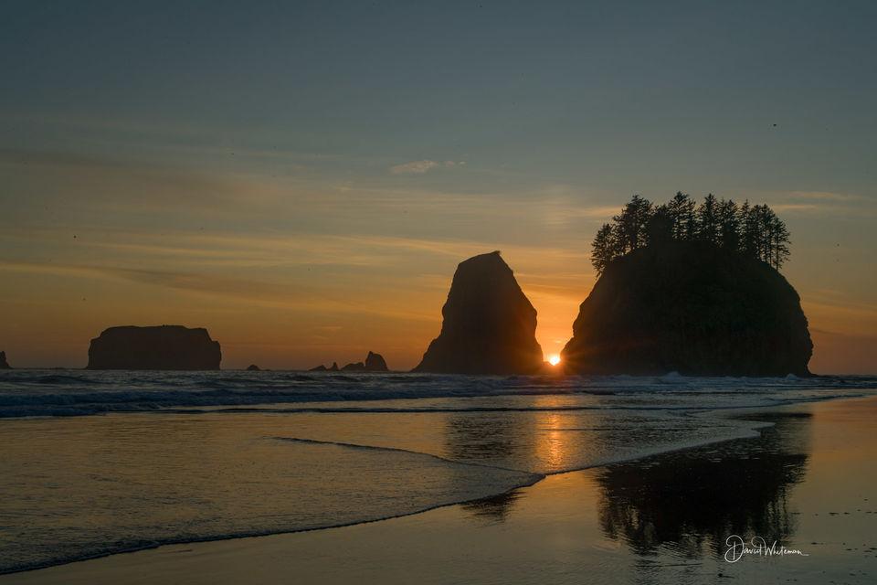 Second Beach Sunset print