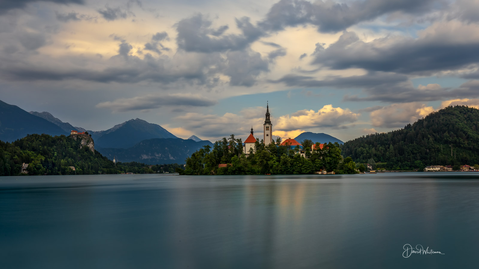 Lake Bled From Board Walk