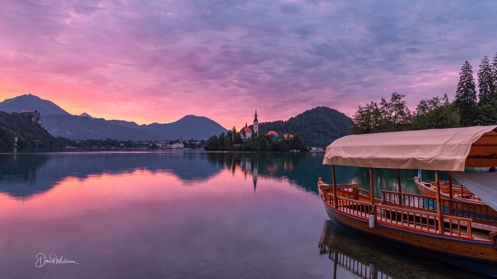Lake Bled Sunrise